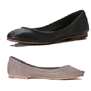 The Carson ballet flat is soft and flexible, something you'll want to wear 24/7. A shoe with the comfort of a slipper, but that looks great out and about. Choose from a rainbow of hot colors in antiqued premium leather.